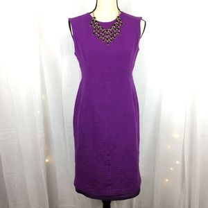 Evan-Picone Sheath Dress Purple Size 6